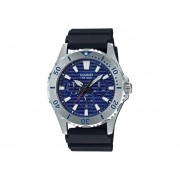 Reloj Analógico Hombre Casio MTD-1086-2A Cronógrafo - Negro con Azul