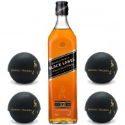 Johnnie Walker Black Label 12 ani Ice Ball Mould Gift Set 0.7L