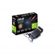 Tarjeta De Video ASUS NVIDIA GeForce GT 710, 2 GB GDDR3, HDMI, DVI. Puerto PCI Express 2.0. 710-2-SL-CSM