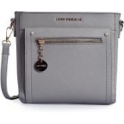 Lino Perros LWSL00344GREY Grey Sling Bag