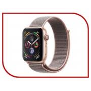Умные часы APPLE Watch Series 4 40mm Gold Aluminium Case with Pink Sand Sport Loop MU692RU/A