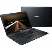 "Asus X751NV-TY001 Intel Pentium Quad-Core N4200/17.3"" HD+/4GB/1TB/GF 920MX-2GB/DVD-RW/Linux/Black"