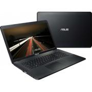 """Asus X751NV-TY001 Intel Pentium Quad-Core N4200/17.3"""" HD+/4GB/1TB/GF 920MX-2GB/DVD-RW/Linux/Black"""