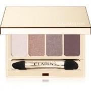 Clarins 4-Colour Eyeshadow Palette paleta de sombras de ojos tono 02 Rosewood 6,9 g