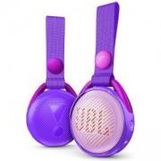 Детска Bluetooth колонка JBL JR POP, до 10 м обхват, Li-Ion 600 mAh батерия, 3 W, лилав, JBL-JR-POP-PUR