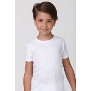 Tricou alb pentru baieti, din bumbac alb 1112