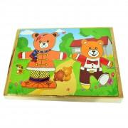 Joc de potrivire - doi ursuleți