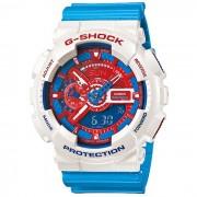 genuino casio g-shock modelo limitado GA-110AC-7ADR serie rojo y azul-blanco