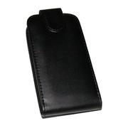 Калъф тип тефтер за Nokia Asha 208 Черен