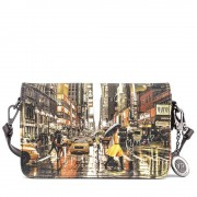 Y Not? Borsa Donna a Tracolla Y NOT K-352 Yellow Mood
