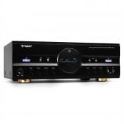 Auna Surround Аудио Усилвател за домашно кино 600W Max - Черен (AV1-AMP-218-B-V2)