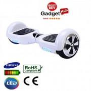 "6.5"" Racing White Classic Segway Hoverboard"