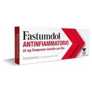 Menarini Internat. O.L.S.A Fastumdol Antinf 25 Mg Compresse Rivestite Con Film, 10 Compresse In Blister Pvc-Al