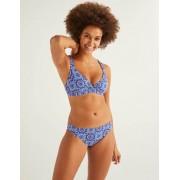 Boden Kräftiges Blau, Sonnenmuster Bikinihose Damen Boden, 46, Blue