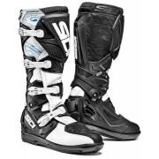 Sidi X-Treme SRS Offroad Boots Black White 44