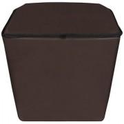 Dream Care Coffee Waterproof Dustproof Washing Machine Cover For semi automatic Haier XPB65-114D 6.5 Kg Washing Machine
