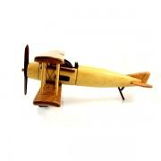 Avion model de epoca, macheta din lemn