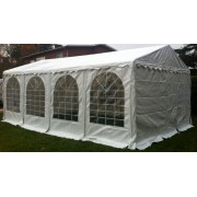 Professionele Partytent PVC 4x8x2,6 mtr in Wit
