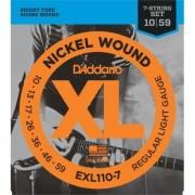 D'addario EXL1107 XL REGULAR 7-STRING [10-56]