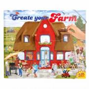 Boerderij stickerboek deluxe voor jongens