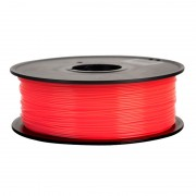 Filament pentru Imprimanta 3D 1.75 mm PLA 1 kg - Rosu Transparent
