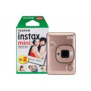 Fuji Instant Camera Instax Mini LiPlay Blush Gold