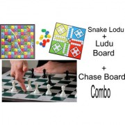 Ludo and Chess Kids board game (3 game Item at 2 Board)