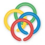 Baloane pentru modelaj culori asortate 100 bucati/set Big Party