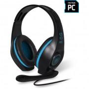 Spirit of Gamer PRO-H5 mikrofonos fejhallgató - fekete-kék