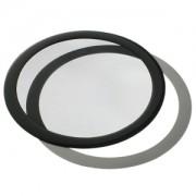 Filtru de praf DEMCiflex Dust Filter Round 200mm - Black/Black