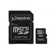 Kingston Micro SDHC Class4 16GB + adapter