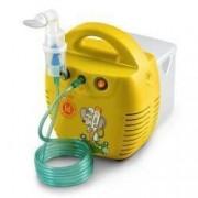Aparat aerosoli Little Doctor LD 211C galben nebulizator cu compresor 3 dispensere 3 masti