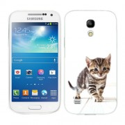 Husa Samsung Galaxy S4 Mini i9190 i9195 Silicon Gel Tpu Model Pisicuta