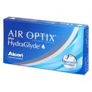 Air Optix plus HydraGlyde (3 лещи)
