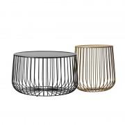Nordic tea table metal furniture living room pumpkin coffee table modern minimalist side table