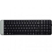 Клавиатура Logitech K230, безжична, черна, Nano-receiver, USB