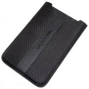 "Samsung Custodia Et-Gtabbssgsta Originale Fondina Universale Simil Pelle Tablet 7"" Black Per Modelli A Marchio Goclever"