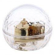 Phenovo Transparent Musical Box Acrylic Hand Crank Music Box Kids Toy Xmas Gift 13 Melody Optional - clear, Love Story