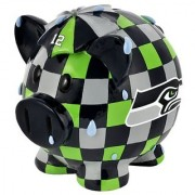 NFL Seattle Seahawks Resin Large Thematic Piggy Bank