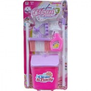 Cleaning Pretend Play Set Kids Housekeeping Sweep Educational Role playToy(COLOUR MAY VARY)