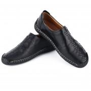 1 par de moda Slip-on Flat Heel Shoes Soft Moccasin todos coincide con zapatos de ocio
