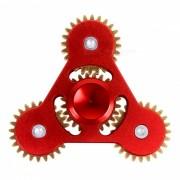 Engranaje Dayspirit en forma de alivio de estres giro rotador dedo - Rojo