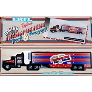 1993 Ertl Racing Replicas Transporters Past & Present Kenny Wallace Dirt Devil Stock Car Transporter