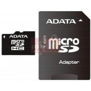 ADATA Micro SDHC 4GB Class 4 + SD adaptér