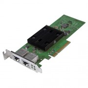 Dell Broadcom 57406 10G Base-T Dual Port PCIe Adapter, Low Profile, Customer Install