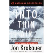 Into Thin Air: A Personal Account of the Mount Everest Disaster, Paperback/Jon Krakauer