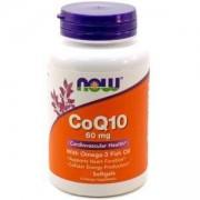 Коензим Q10 + Омега 3 - CoQ10 60 мг. + Omega 3 - 30 дражета - NOW FOODS, NF3162