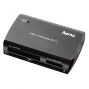 CARD READER, Hama 65-in-1, Multicard Reader, USB2.0 (49009)