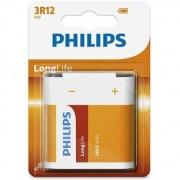 Philips Longlife 3R12 4,5V Zink batteri - udgår 12 stk. tilbage