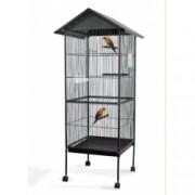 OUTIROR Cage à oiseaux 157 x 52 x 52 cm